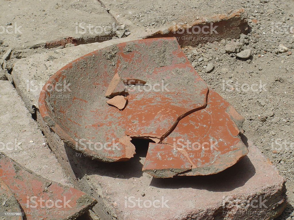 Archaeology 3 stock photo