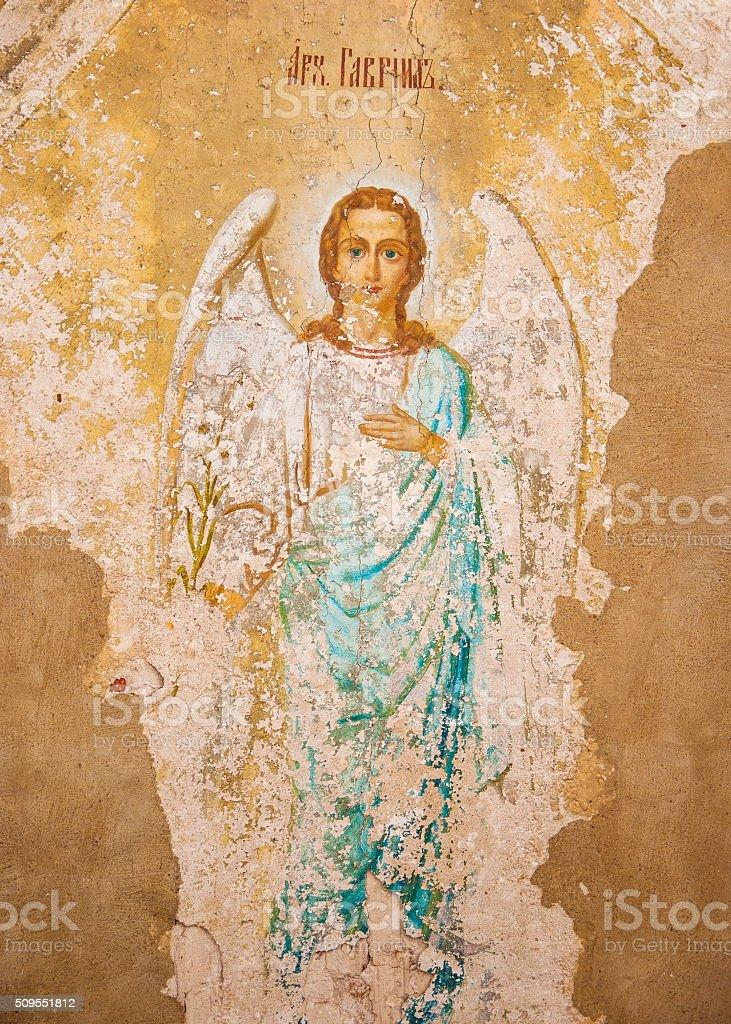 Archangel Gabriel stock photo
