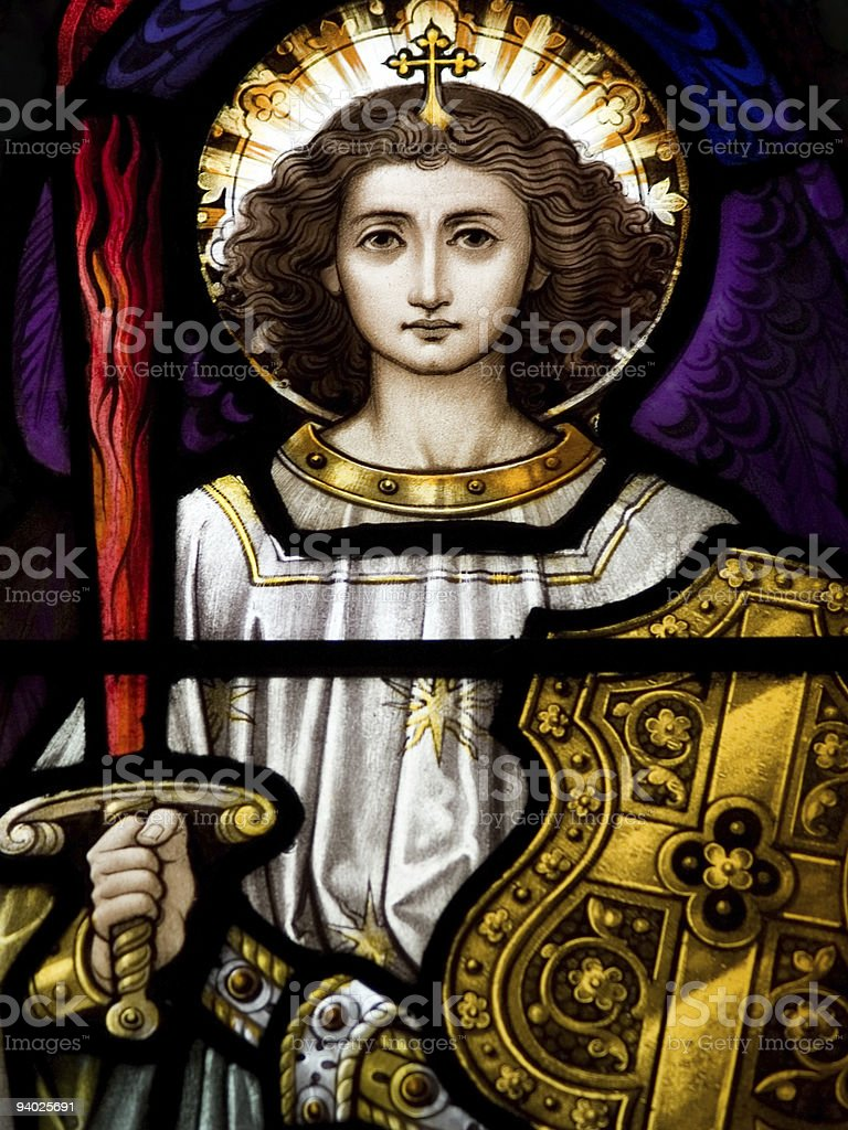 Archangel Michael royalty-free stock photo