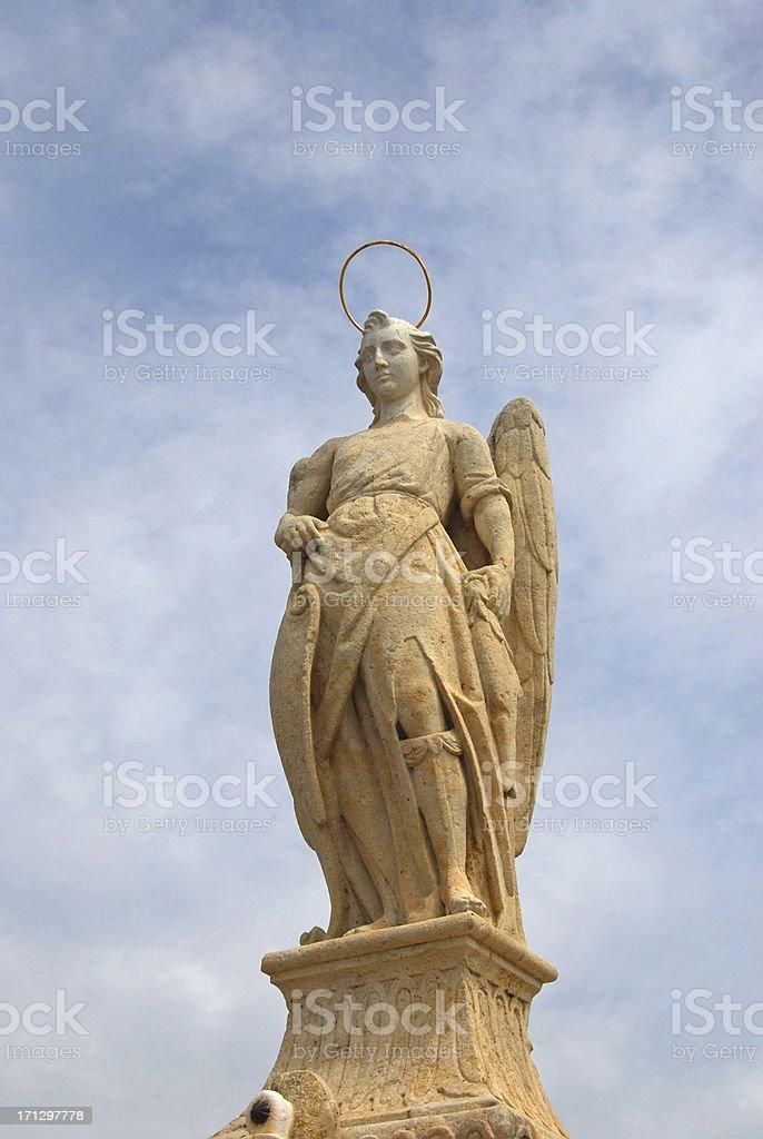 Archangel Raphael stock photo