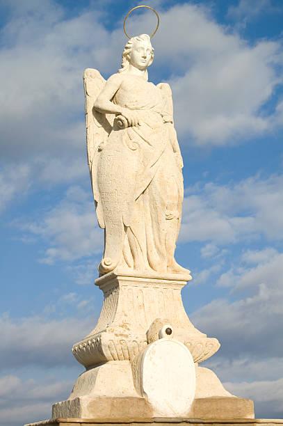Estátua do anjo - foto de acervo