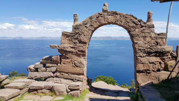 アルケー インカ - タキーレ島 ストックフォトと画像