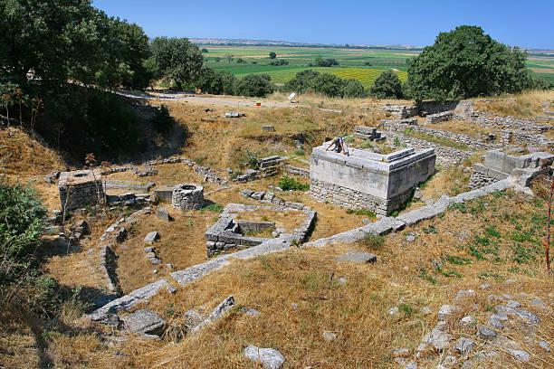 Archeaolog in Troy – Foto
