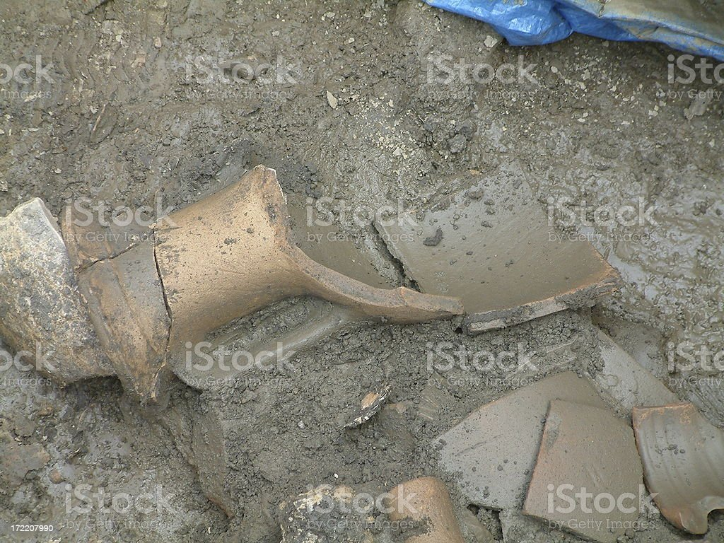 Archeaology 2 royalty-free stock photo