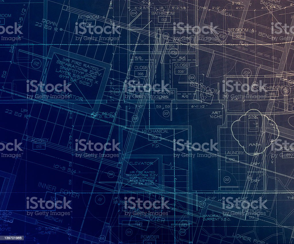 archecture plans  abstract royalty-free stock photo