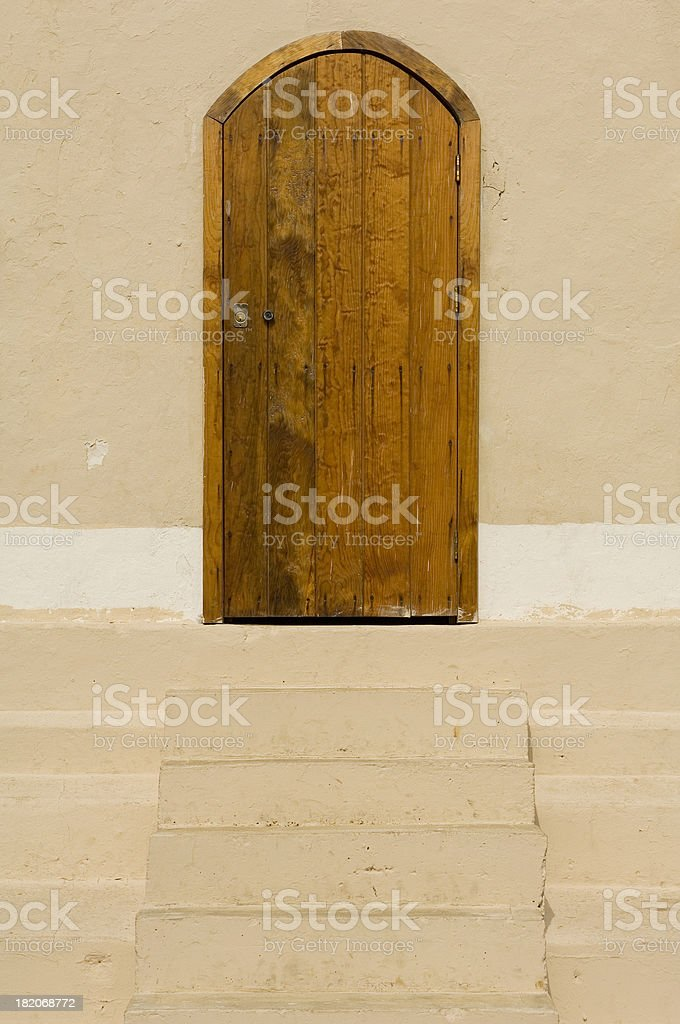 Arched Door royalty-free stock photo