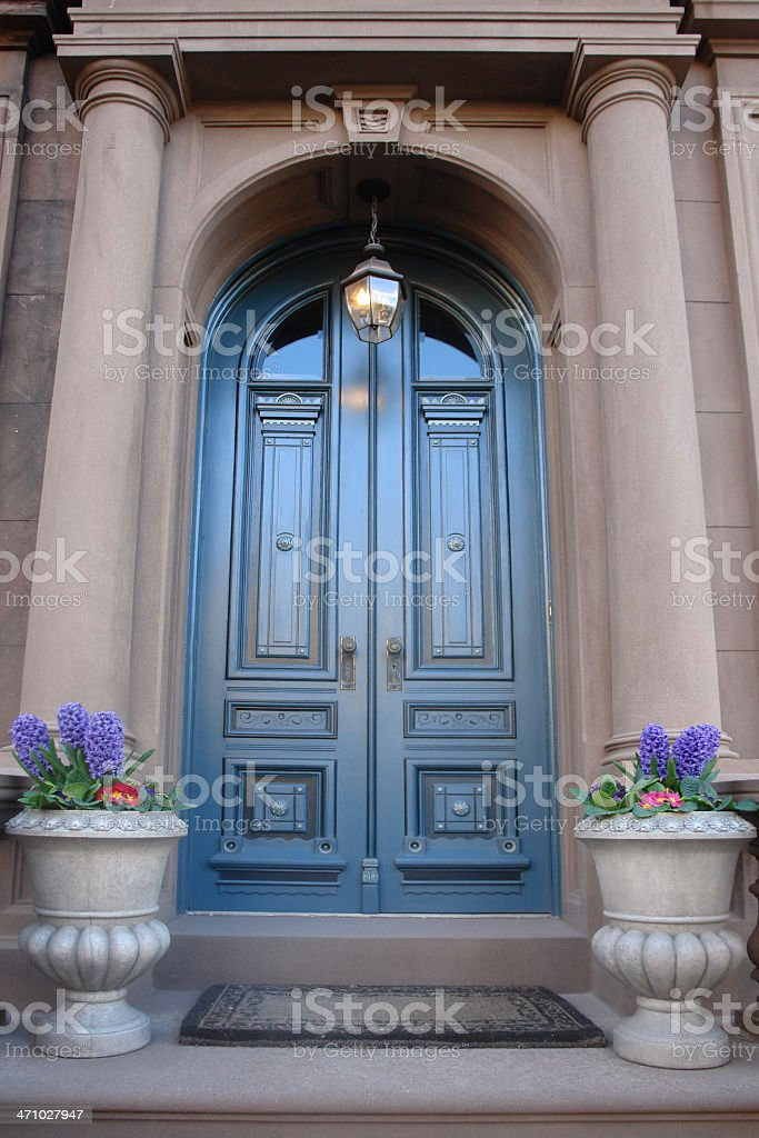 arched doorway royalty-free stock photo