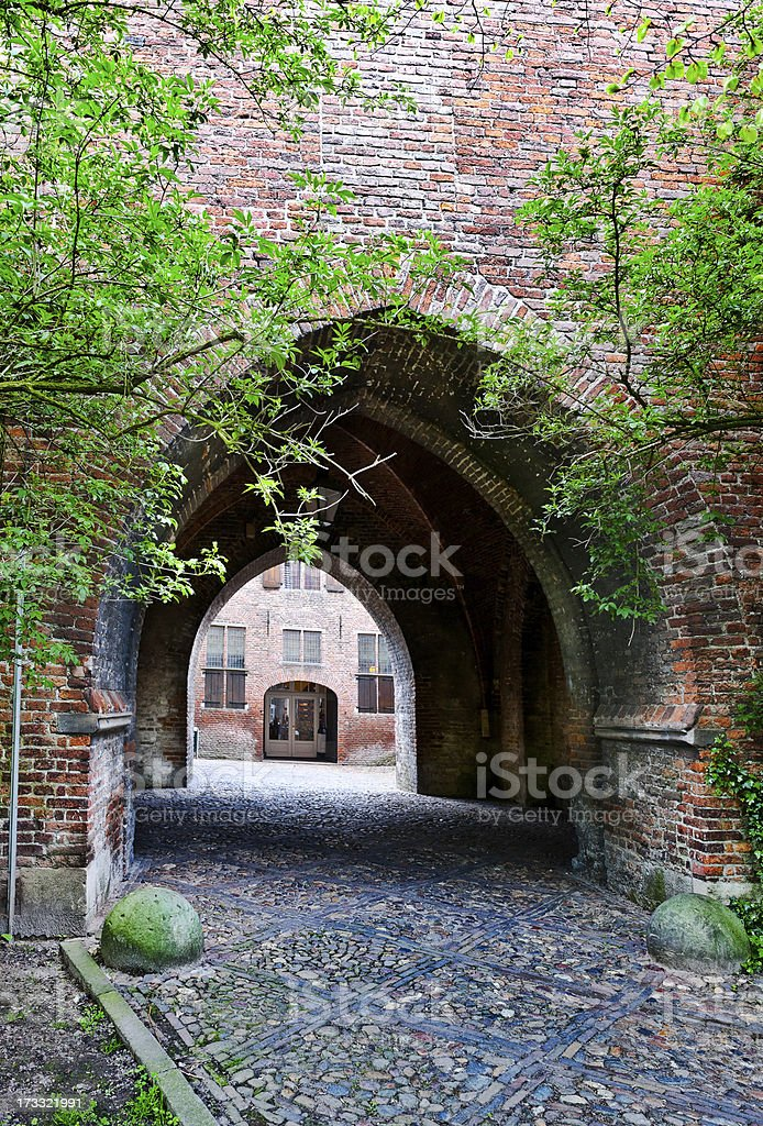 Arched Entrance royalty-free stock photo
