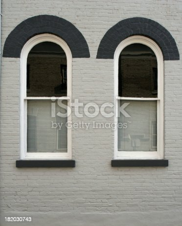 istock Arched windows 182030743