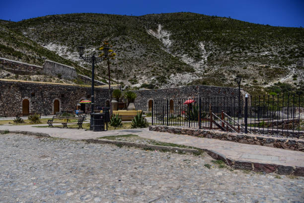 Archeological ruins Archeological ruins real de catorce stock pictures, royalty-free photos & images