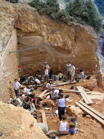 Archeological Site Of Atapuerca Stock Photo - Download Image Now