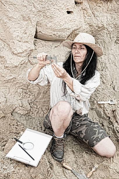 Archeology stock photo