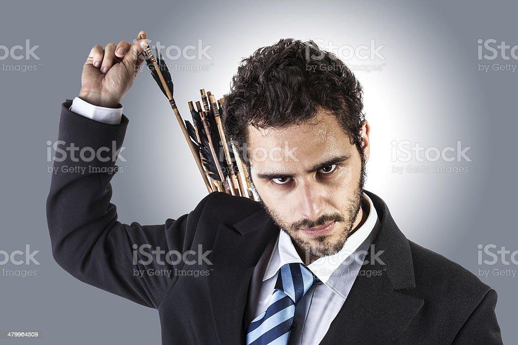 archer ejecutivo - foto de stock