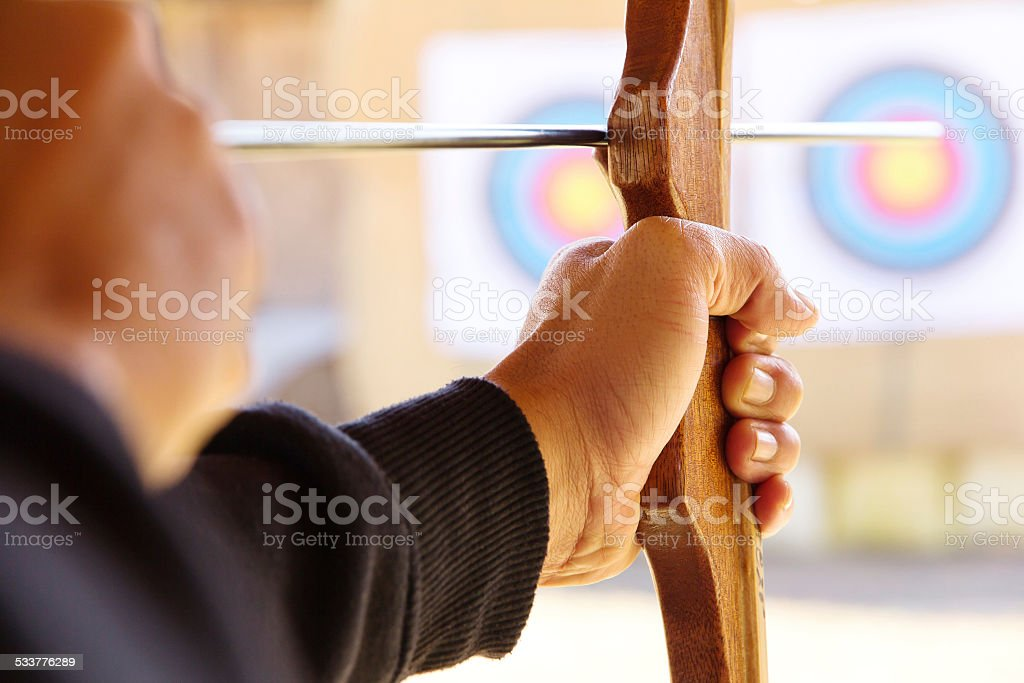 Archer stock photo