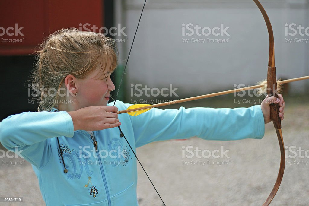 Archer Lizenzfreies stock-foto