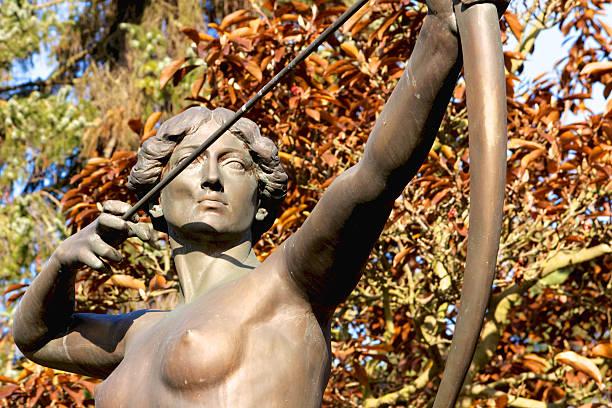 Archer Statue stock photo