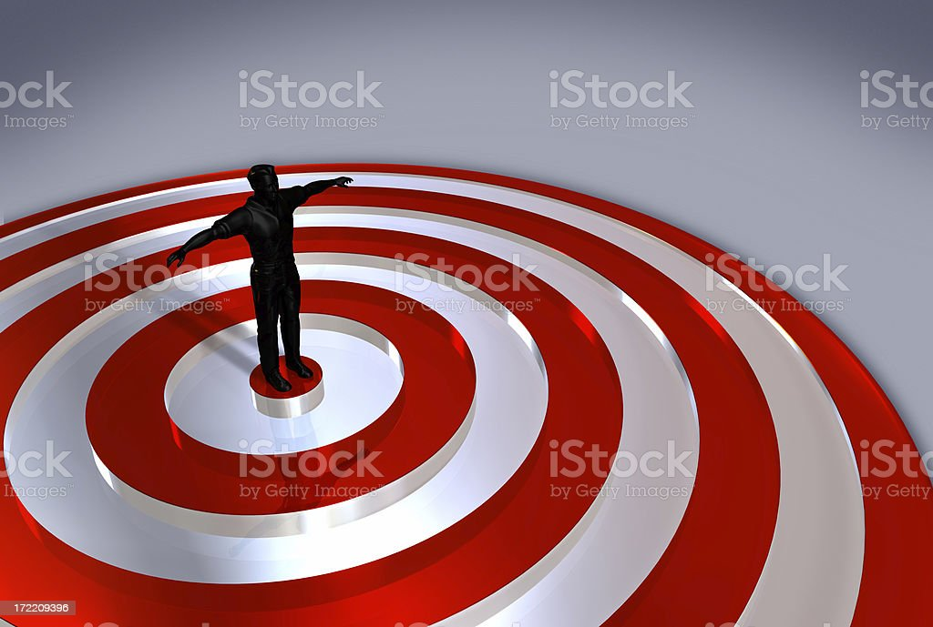 Archery Center stock photo