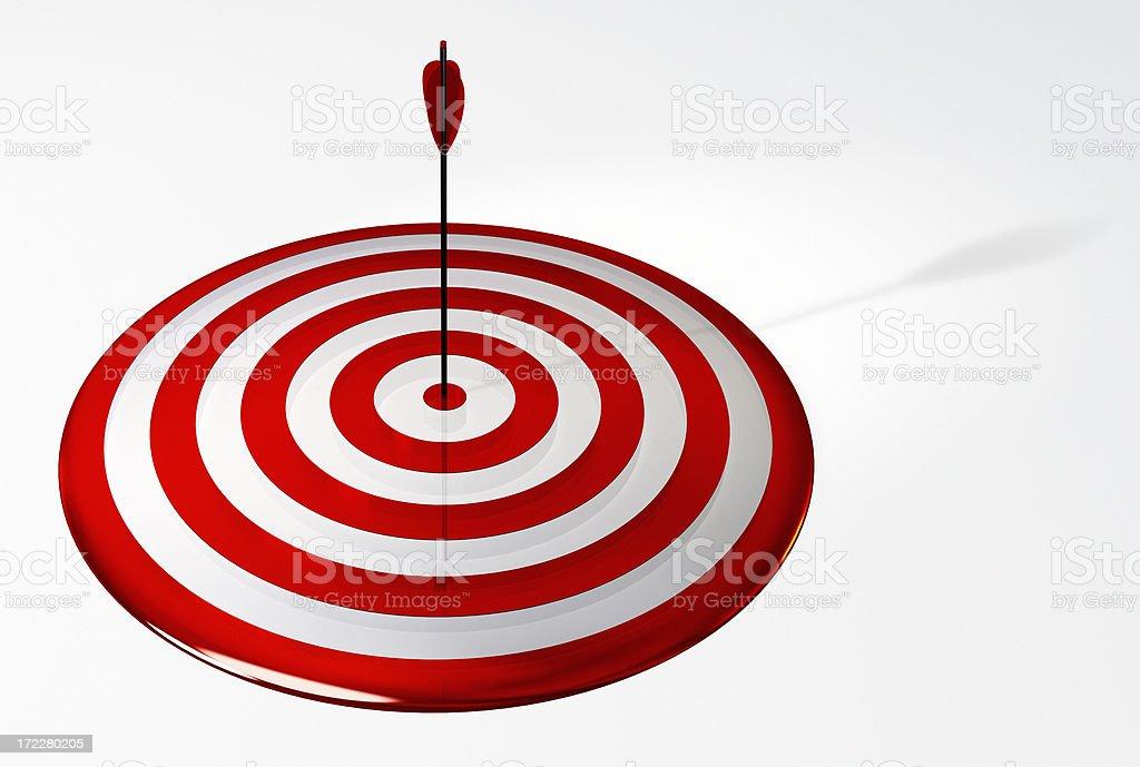 Archery Center royalty-free stock photo