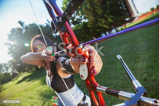 istock Archery 480535098
