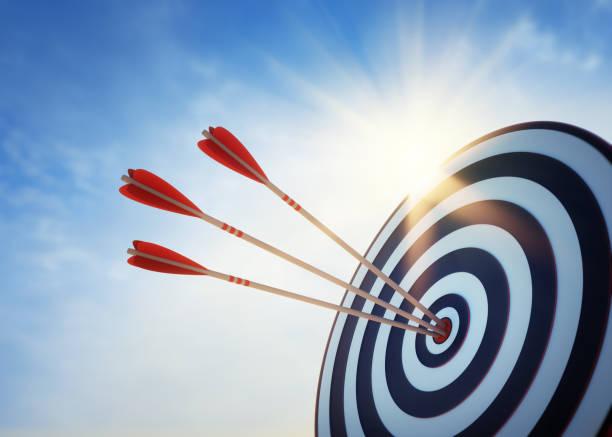 Archery target and arrow 3d on blue sky picture id1190550908?b=1&k=6&m=1190550908&s=612x612&w=0&h=rb3s5rejkhlwb psgamrqhi0dmun3nwyqaaooh9ks0y=