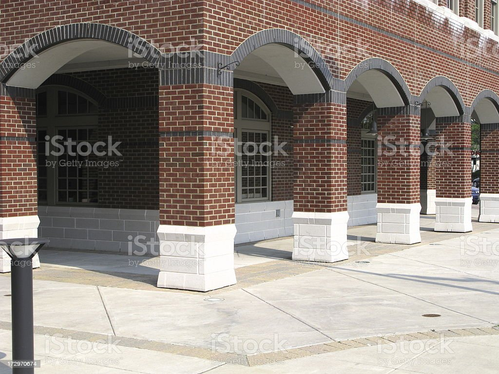Arches Building Town Hall stock photo