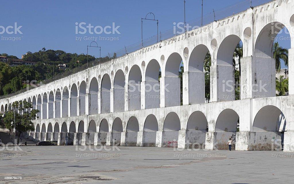 arches  Lapa  Centro Rio de Janeiro Brazil stock photo