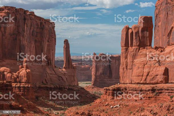Arches National Park In Utah Stock Photo - Download Image Now