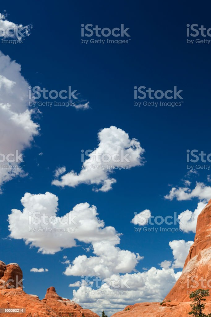 Arches National Park in Utah, USA zbiór zdjęć royalty-free