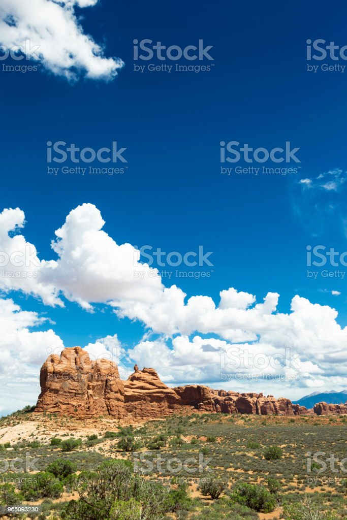 Arches National Park in Utah, USA royalty-free stock photo