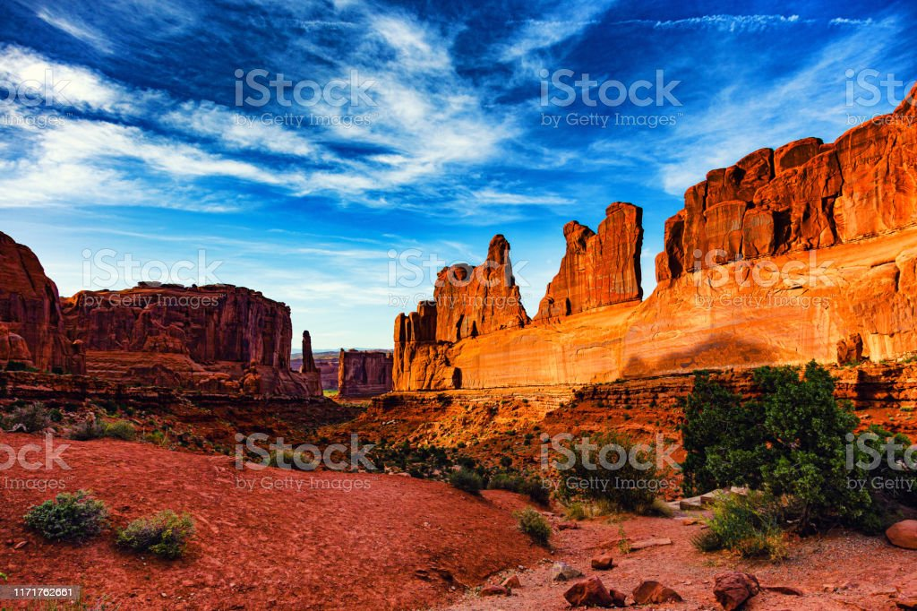 Arches National Park, Moab, UT - Royalty-free Arches National Park Stockfoto