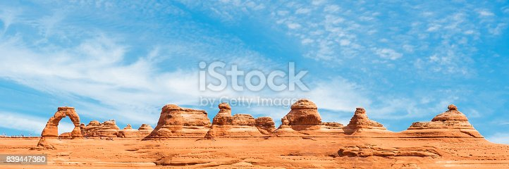 istock Arches National Park Panorama 839447360