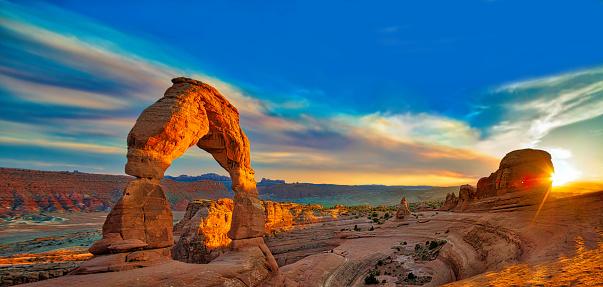Arches national park, Moab Utah