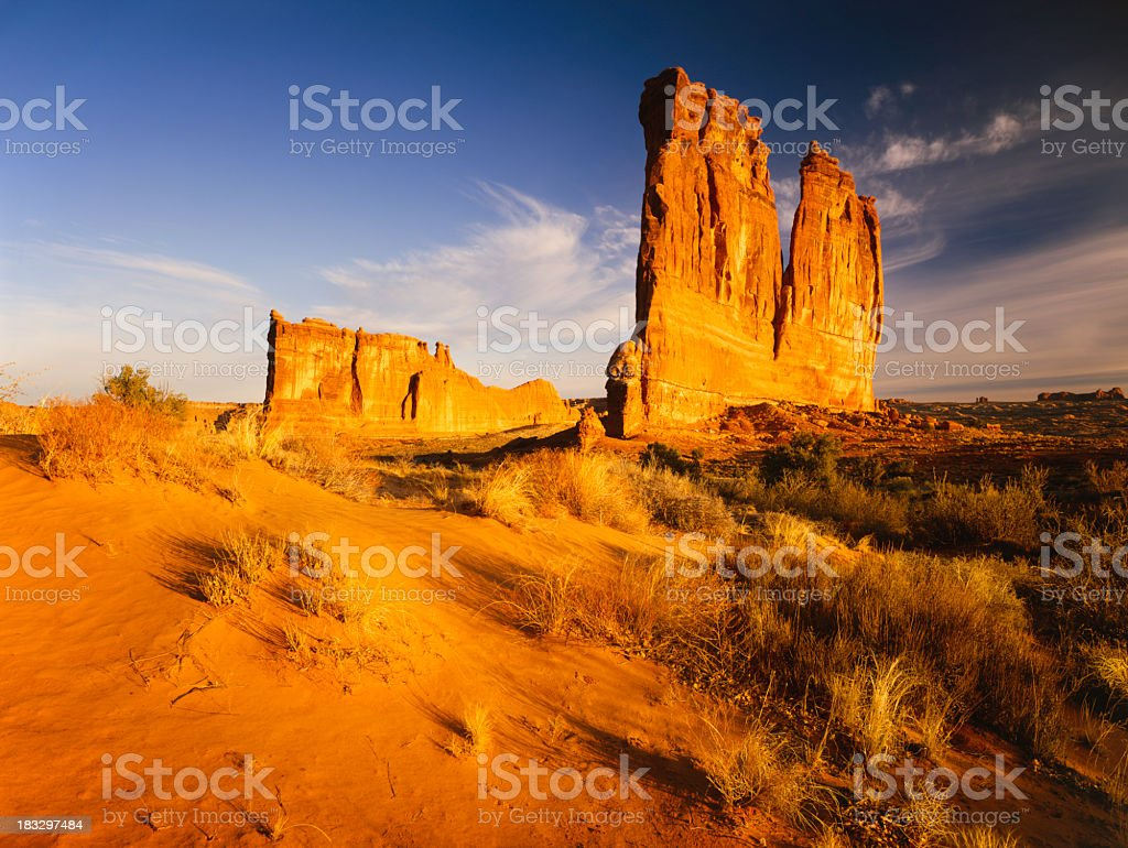 Arches National Park royalty-free stock photo