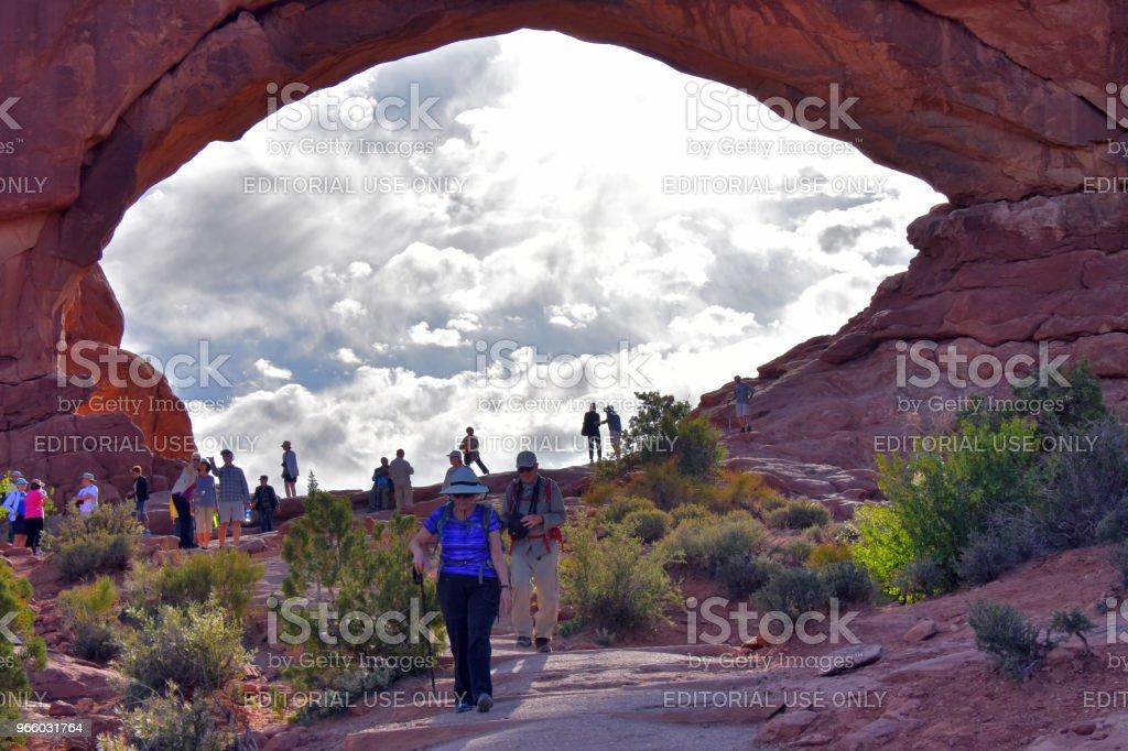 Arches National Park - Lizenzfrei Arches-Nationalpark Stock-Foto
