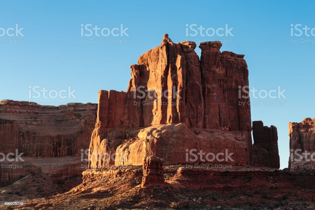 Arches National Park - Scenic Beauty of Utah stock photo