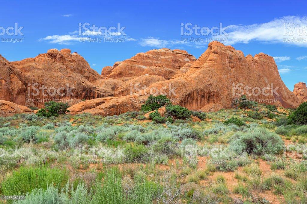 Arches National Park, Utah stock photo