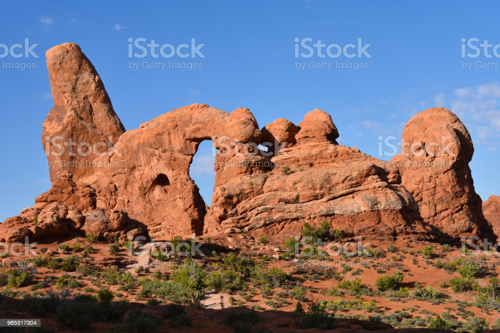 Arches National Park Windows royalty-free stock photo