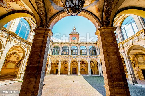 istock Archiginnasio of Bologna 596086328
