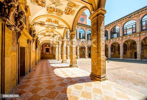 istock Archiginnasio of Bologna 596086396