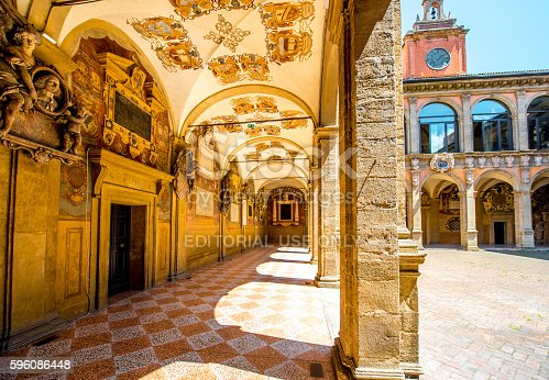 istock Archiginnasio of Bologna 596086448