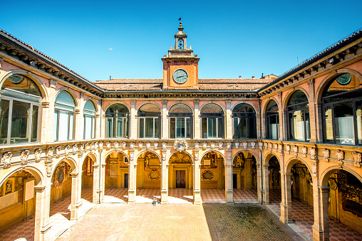 istock Archiginnasio of Bologna 596086916