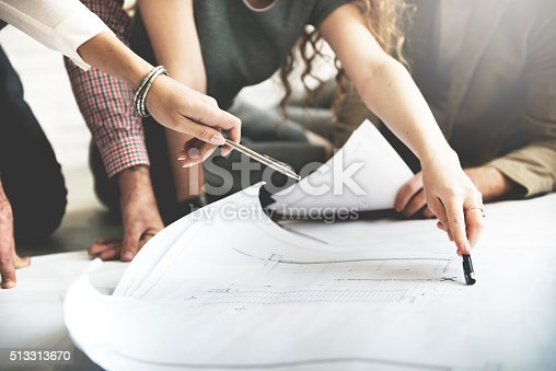 istock Architect Design Project Meeting Discussion Concept 513313670