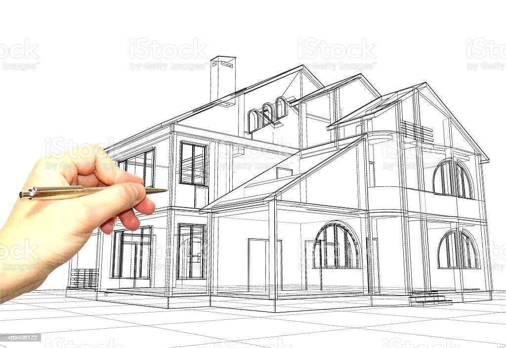 Zeichnen lernen grundlagen perspektive 4 5 mappe mappenkurs play architektur skizzen zeichnen - Architekturzeichnung lernen ...