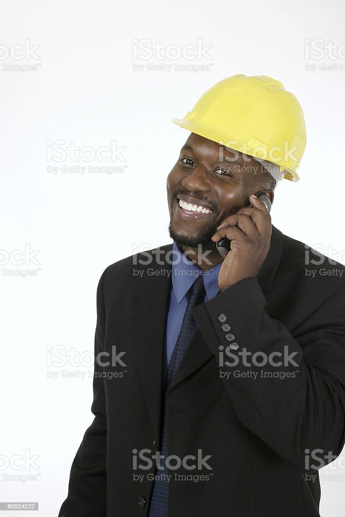 Architect or Construction Contractor 2 royalty-free stock photo
