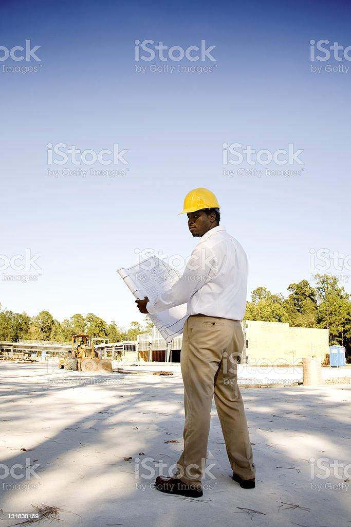 Architect royalty-free stock photo