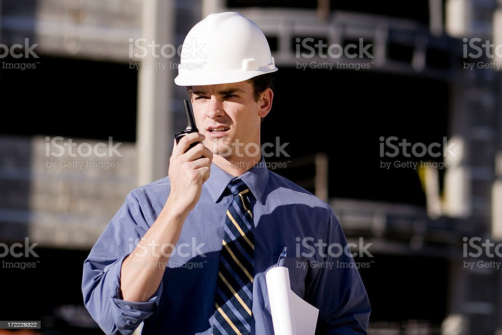 Architect Portrait royalty-free stock photo