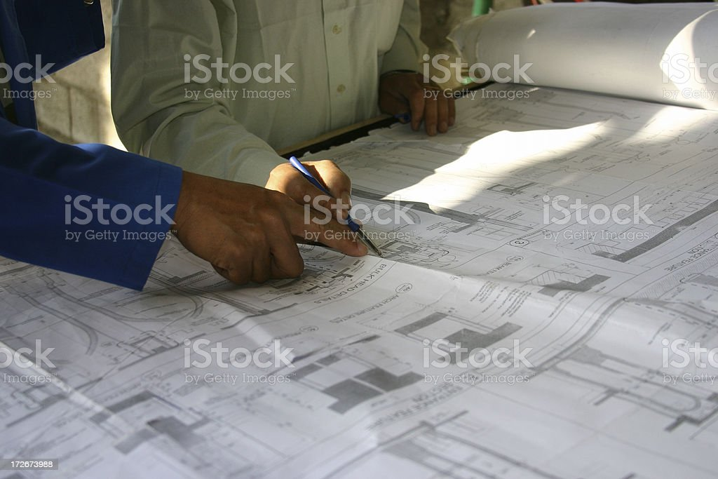 Architects 1 royalty-free stock photo
