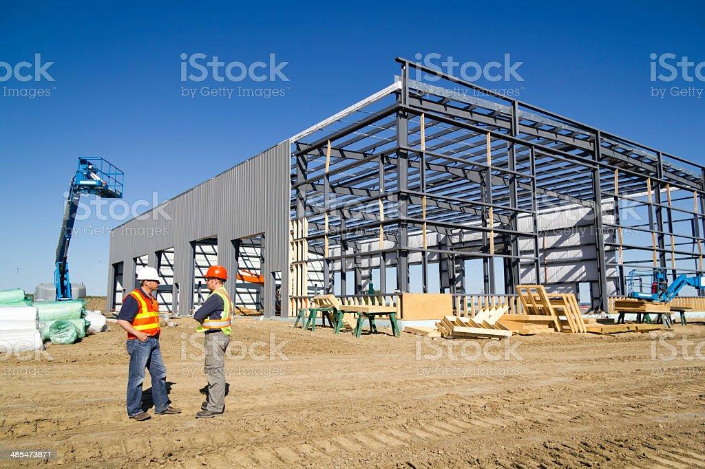 Architekten auf der Baustelle – Foto