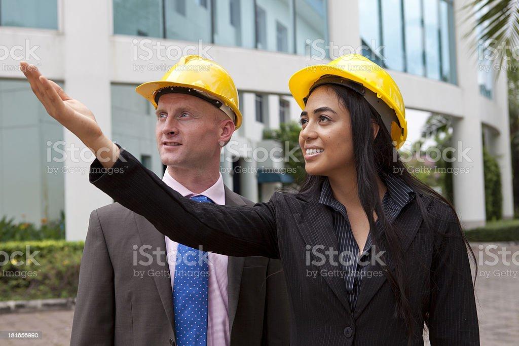 Architects stock photo