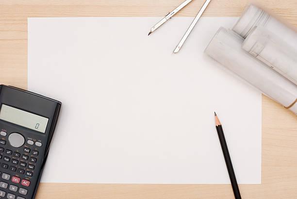 architekt's table - einfache holzprojekte stock-fotos und bilder